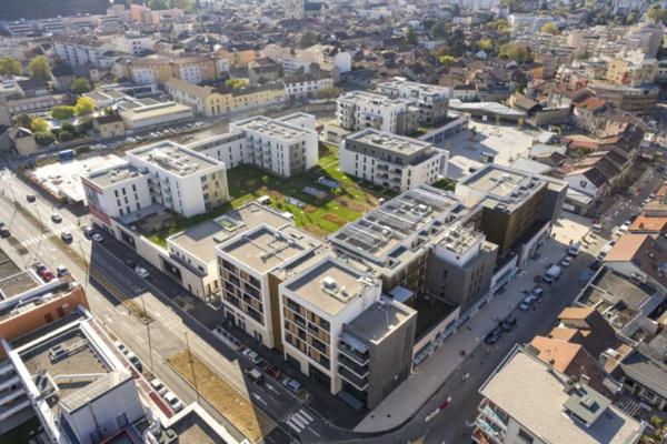 Quartier la Folatière, logements neufs Bourgoin Jallieu