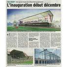 Tribunes du CSBJ : inauguration début décembre